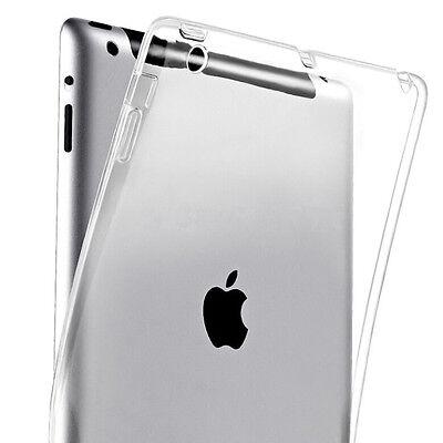 TPU Silikon Case für Apple iPad 2 3 4 Transparent Klar Crystal Cover Apple Ipad 2 Silikon