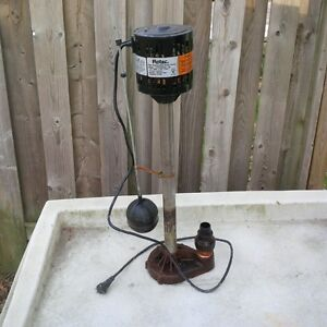 Flotec Sump Pump - sells new for $140