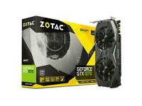 Zotac 1070 amp edition graphics card
