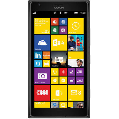 Nokia Lumia 1520   32Gb 6 0 Ips  Factocy Unlocked  20Mp Smartphone Usa