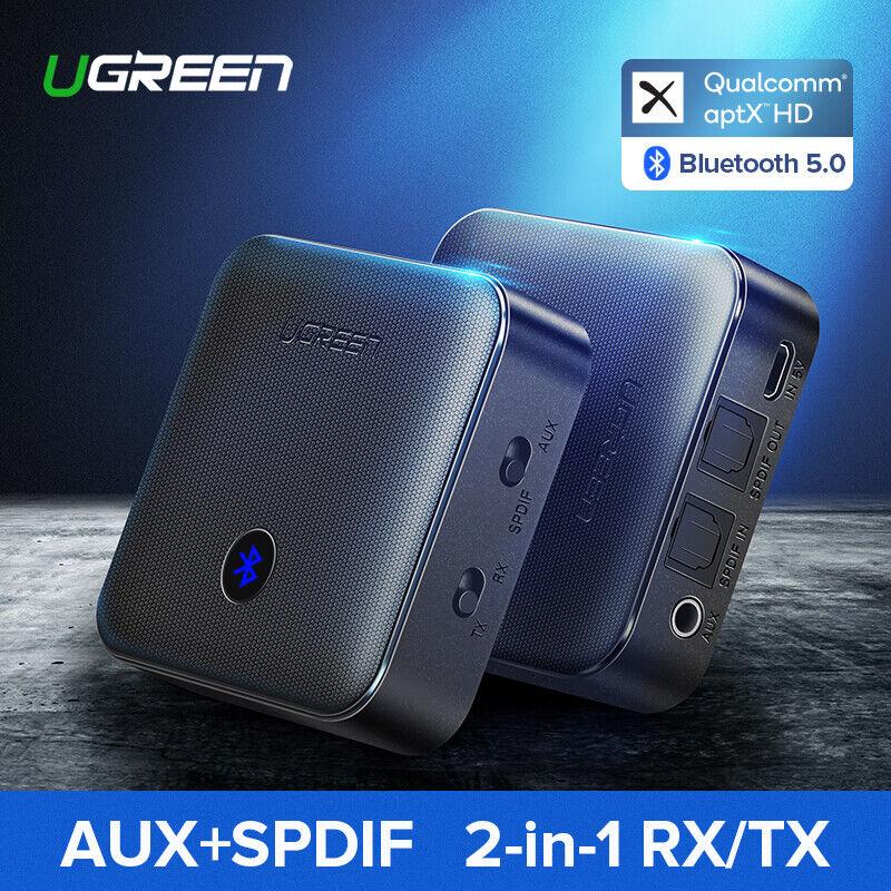 Ugreen Bluetooth 5.0 Receiver Transmitter Audio Adapter aptX