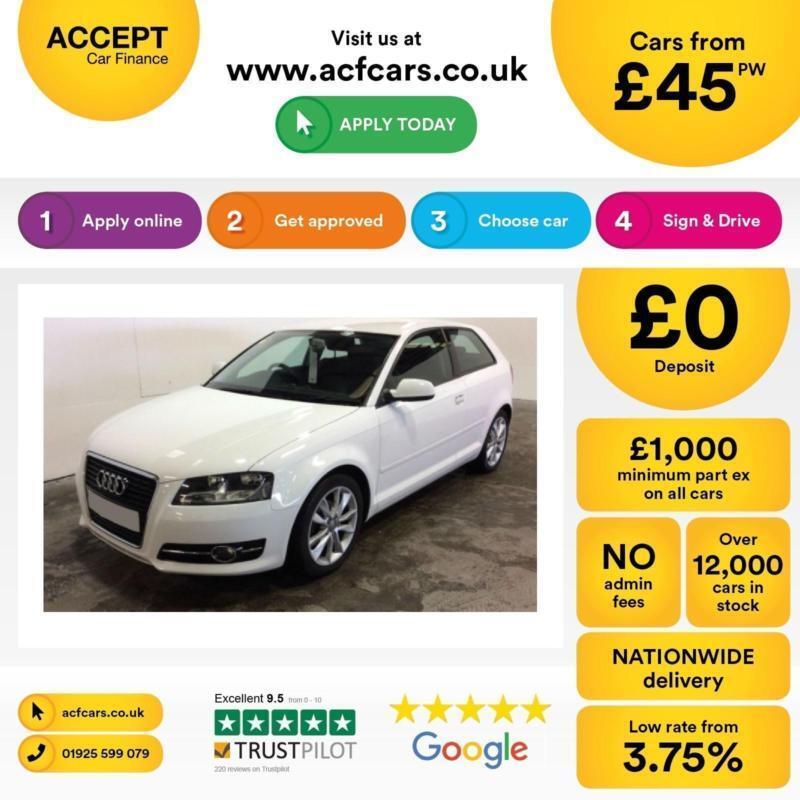 Audi A3 1.6TDI Sport FINANCE OFFER FROM £45 PER WEEK!