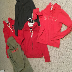 Women's size SMALL hoodies