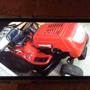 """lawn tractor  13.5Hp  38 """""""