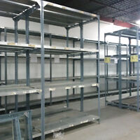 6' x 2' long span heavy duty industrial shelving for sale