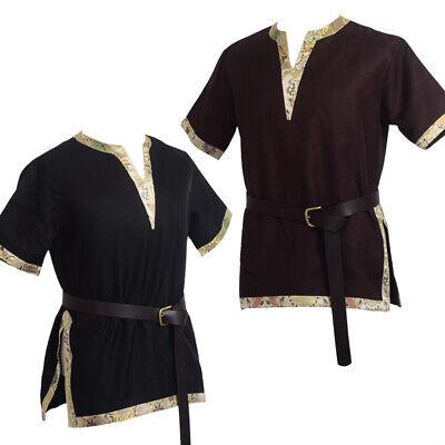 Renaissance Tunic (Medieval Renaissance Shirt Tops Tunic LARP Aristocrat Cosplay Short)