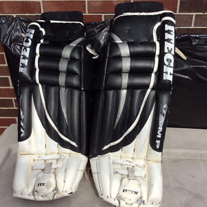"Used Senior 34"" Itech Goalie Pads, Great Condition"