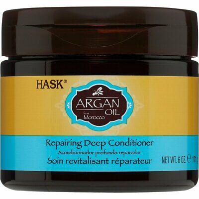 HASK Argan Oil From Morocco Repairing Deep Conditioner-6 Oz