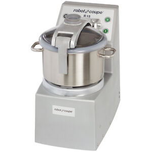Robot Coupe R15 Vertical Food Processor with 15 Qt.