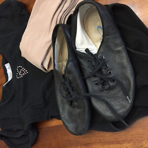 Dance tights, capezio shoes and body suit London Ontario image 1