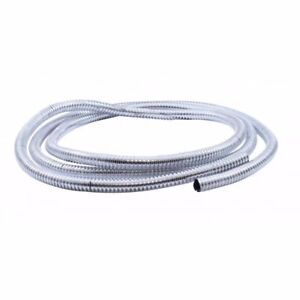 Plastic Chrome Wire Loom 72
