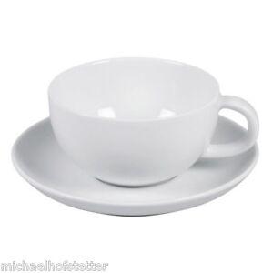 Arzberg Cucina Weiss Teetasse Tee Tasse mit Untertasse/Unterteller 2-tlg. NEU