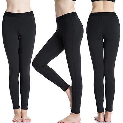 Warm Black Leggings Stretchable One Size Fits All Women Girls 12+ Leggins Winter