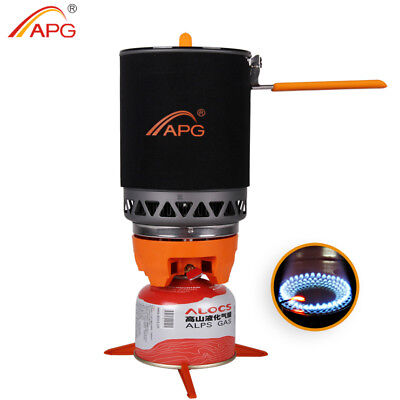 (APG 1600ml Portable Camping gas stove cooking System Butane Propane Burner )