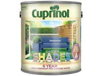 Cuprinol Garden Shades Paint: 4 Pots, 2 Colours