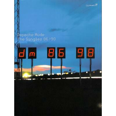 Klavier, Keyboard, Gesang, Gitarre Noten - DEPECHE MODE - THE SINGLES 86>98
