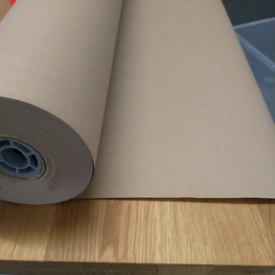Strong brown Kraft paper - eco Christmas wrapping paper