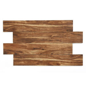 Beautiful Acacia Wood-Look Porcelain Tile 6inch x 36inch  Size