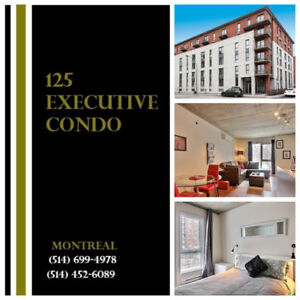 Condo Downtown- Furnished-Utilities Included - 3.5 - 3 1/2