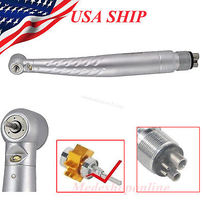 Denshine Ceramic Dental High Speed E-generator Led Handpiece Push 4h New Style