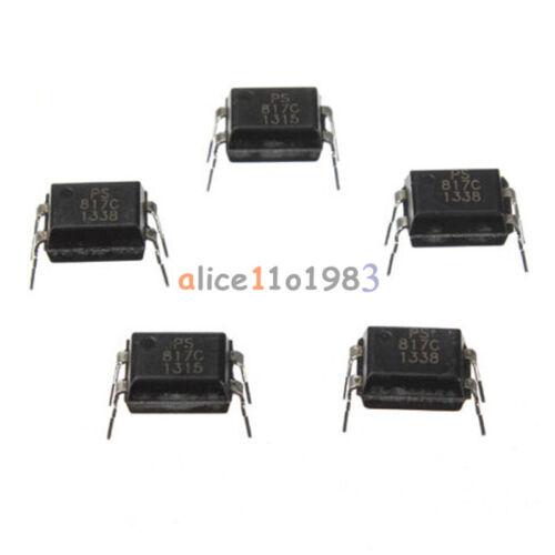 100Pcs PC817 EL817C LTV817 PC817-1 DIP-4 OPTOCOUPLER SHARP Best