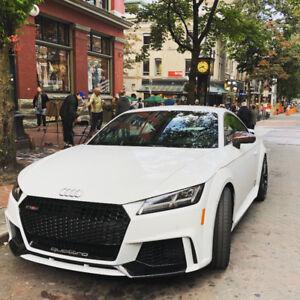 AUDI TT/TTS/TTRS RED CARBON MIRROR CAPS + FUEL CAP