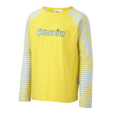 Kids OFFICIAL Brownie Long Sleeve T Shirt - All Sizes Available New  ()