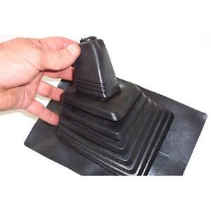 Universal Convoluted Rubber Gear Stick Cover Gaiter