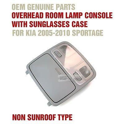 OEM Genuine OverHead Room Lamp Gray Sungrasses Case for KIA 2005 -2010 sportage