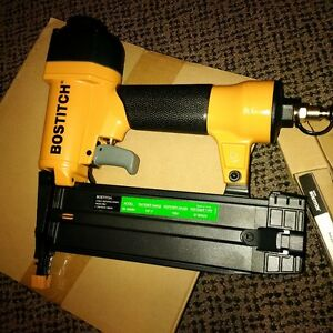 Bostitch 18 gauge finishing Brad nailer