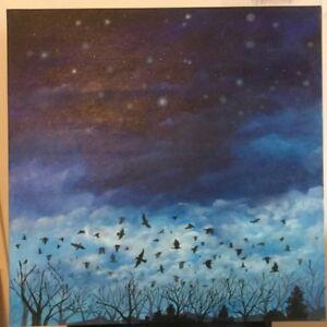 Signed original oil painting by Jason Husmillo