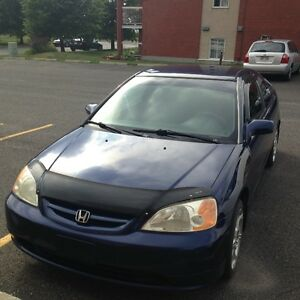 2003 Honda Civic vitre teinter Bicorps