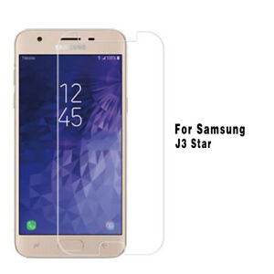 NEW Tempered glass screen protector for Samsung Galaxy J3 Star