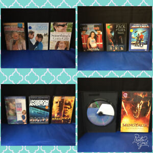 DVD Movies to Sell! - Great Cond!