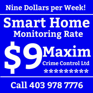 New 9 Dollars per Week from Maxim Crime Control ltd
