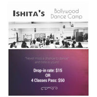 BOLLYWOOD DANCE CAMP IN CALGARY! DROP-IN NOW AVAILABLE!