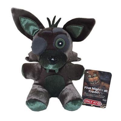 New Rare Five Nights At Freddys Phantom Green Foxy 6  Plush Toy Doll