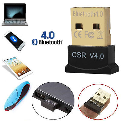 4.0 Bluetooth Adapter Mini USB 2.0 Stick V4.0 EDR Dongle MAC Windows Win 7 8 10