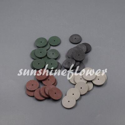 Mix Dental Lab Jewelry Rotary Tool Silicone Rubber Polishing Wheels Polishers