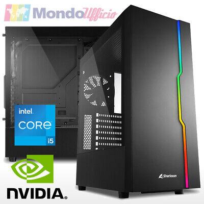 PC GAMING Intel i5 10400F - Ram 16 GB - SSD M.2 256 GB - nVidia GTX 1050Ti 4 GB