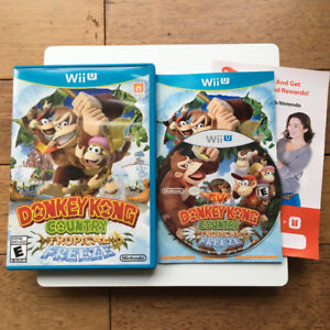 Nintendo Wii U - Donkey Kong Country : Tropical Freeze