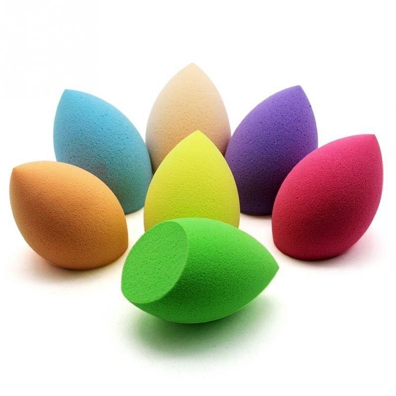 £1 For 2 Egg-shaped Puff /Calabash Puff/ Drop Puff Beauty Foundation Makeup Sponge Flawless Buffer