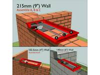 Wall building tool