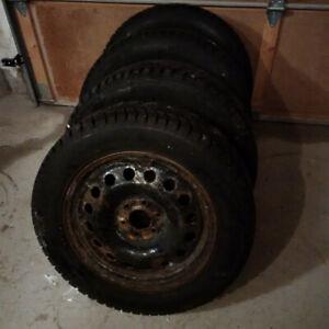 Snow Tires for Uplander / Pontiac Montana SV6