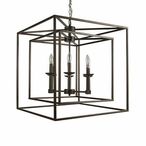New in box, beautiful, unique chandelier