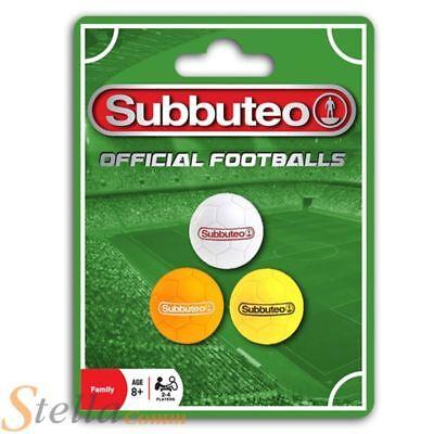 Official Subbuteo Footballs 3 Pack