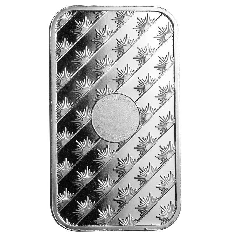 Sunshine Minting Fine Silver .999 Sealed 1 Ounce Troy Bar