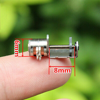 2-phase 4-wire Miniature 6mm stepper motor linear screw slider moving block nut ()