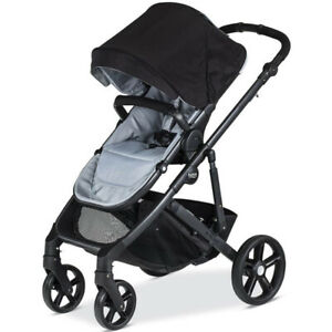 2017 Britax B-Ready Double Stroller with second seat