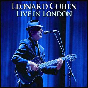 LEONARD COHEN - Live in London 2 CD Package - LIKE NEW Kitchener / Waterloo Kitchener Area image 1